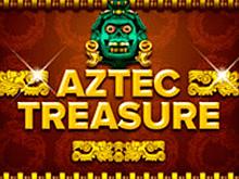 В игровой аппарат Aztec Treasures играть онлайн