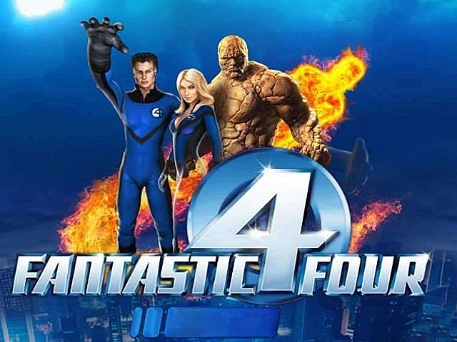 Игровой аппарат Fantastic Four — играть онлайн