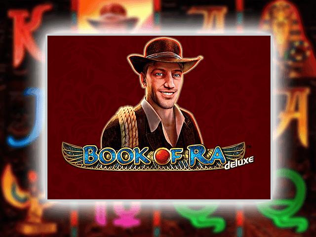 Игровой аппарат Book Ra Deluxe — играть онлайн