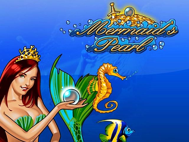 В игровой аппарат Mermaids Pearl играть бесплатно
