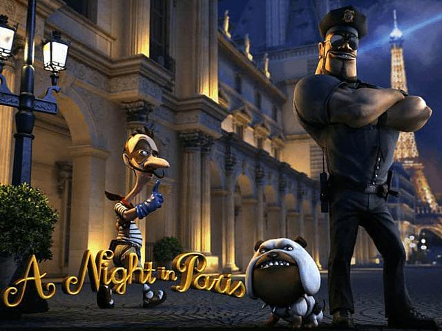 Игровой аппарат Night Paris — играть онлайн