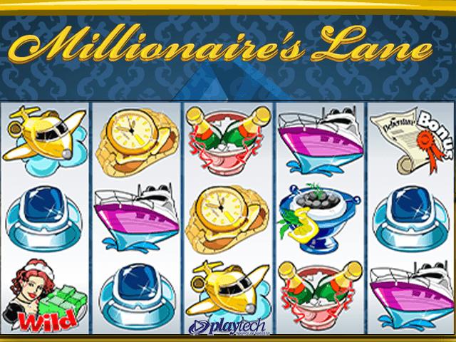 В игровой аппарат Millionaire's Lane играть бесплатно