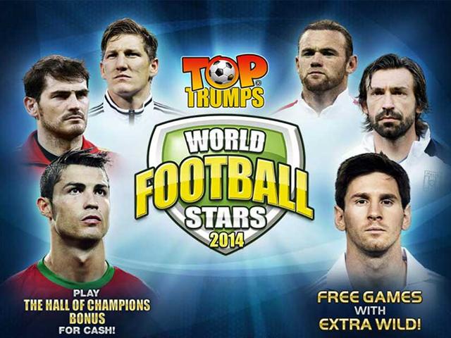 В игровой слот Top Trumps World Football Stars играть онлайн