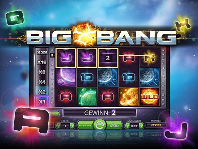 Играйте в казино на деньги в онлайн автоматом Большой Взрыв